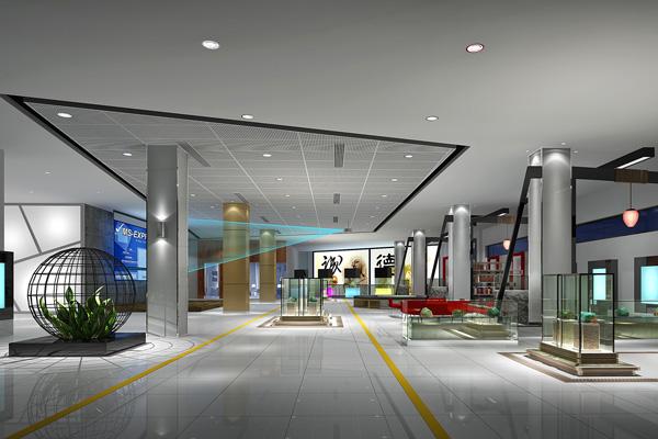 广州花都翡翠博物馆-室内设计