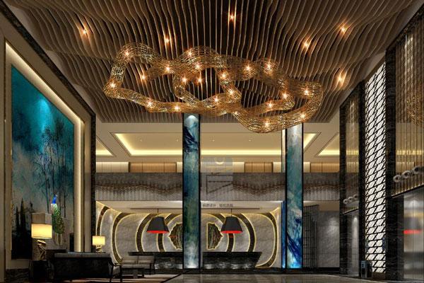 酒店中庭设计的空间形式