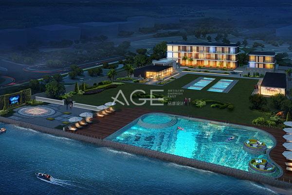 酒店设计总平面的组成与要求