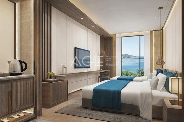 度假酒店海景房设计