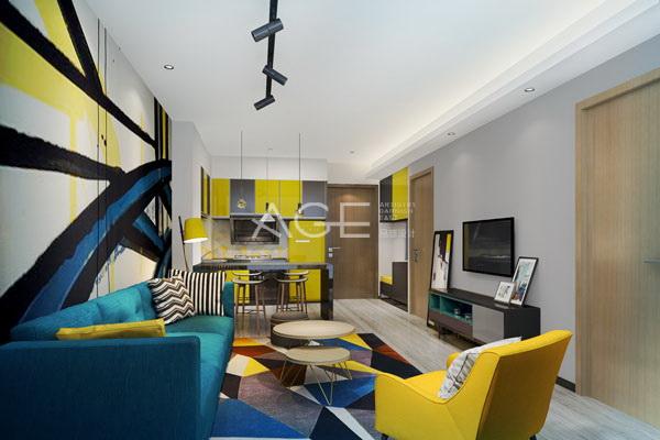 公寓式酒店设计格局布置