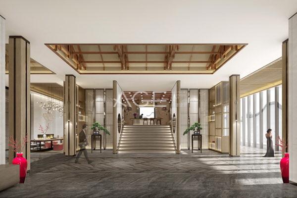 民宿酒店简约留白设计