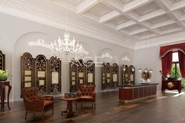 精品酒店设计软装屏风的类型选择
