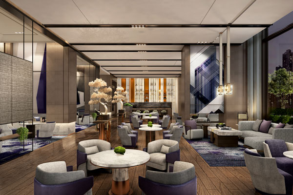 上海宝华喜来登酒店软装设计