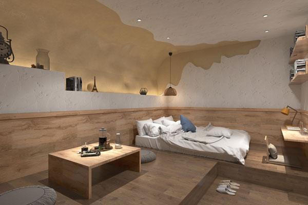 酒店客房设计地面材料的要求