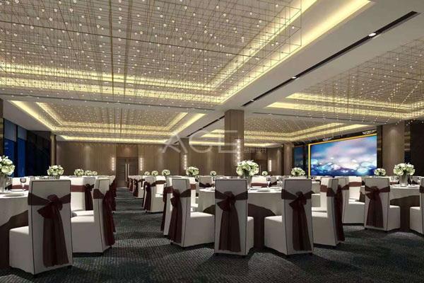 在酒店设计中宴会厅布局有哪些原则?