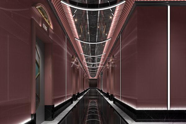 KTV设计室内管道布置与敷设