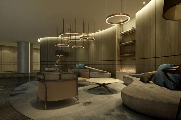 中国现代酒店设计室内风格陈设