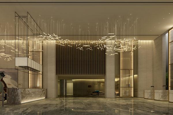 酒店室内设计各局部的色彩处理