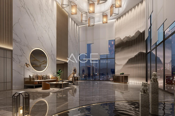 酒店大堂设计,给宾客的第一印象很重要