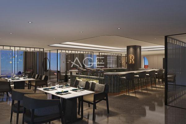 酒店设计西式餐厅布局方式