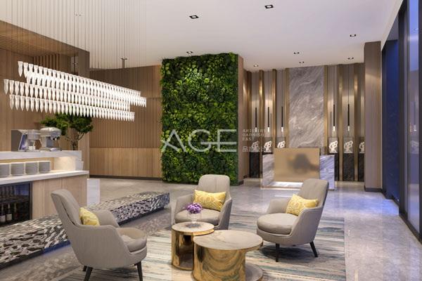 酒店设计室内植物的基本形式